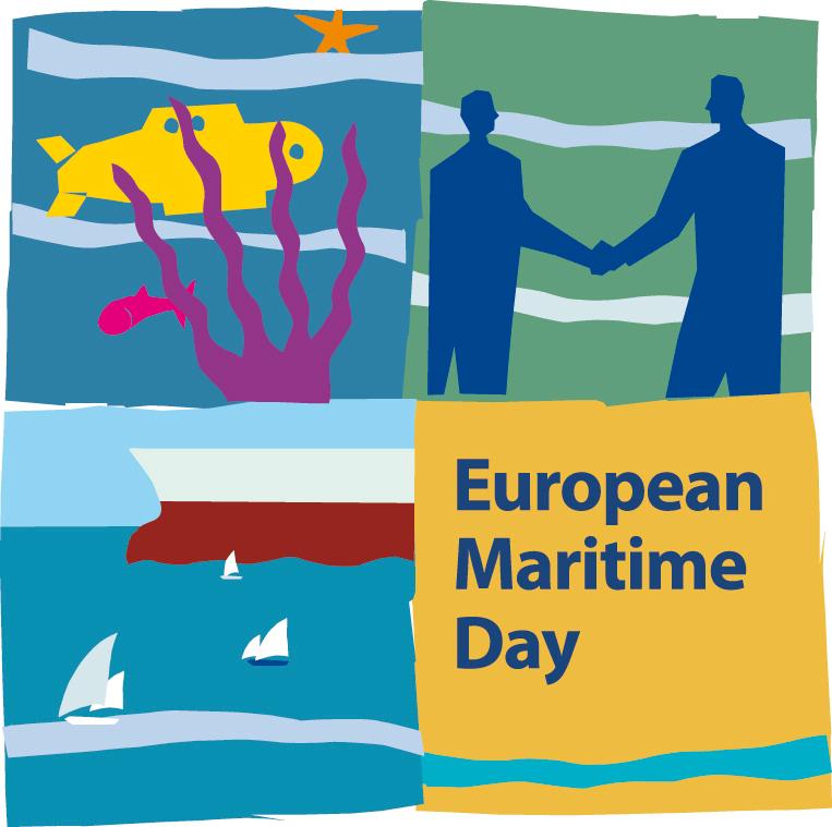 Logo Día Marítimo Europeo