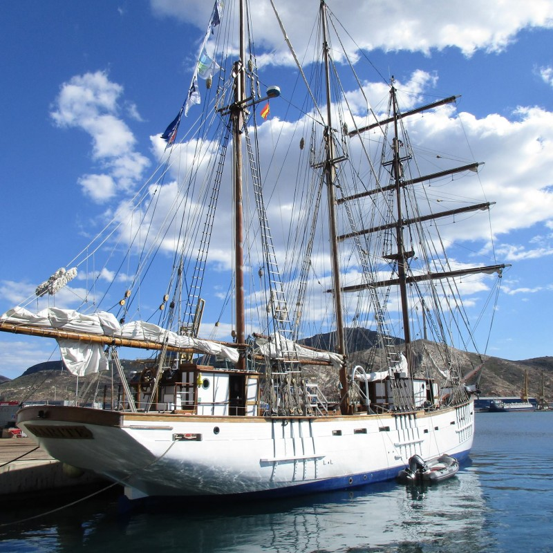 Marité en Yacht Port Cartagena 2