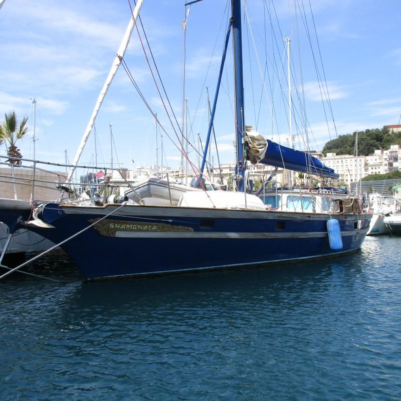 Velero Shambala en Yacht Port Cartagena