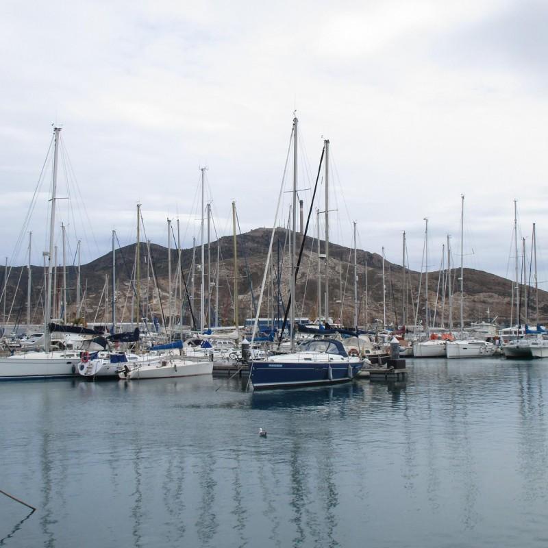 Veleros en Yacht POrt Cartagena 5