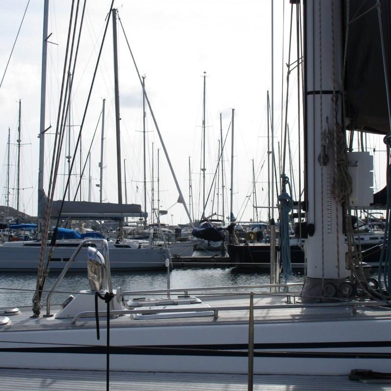 Veleros en Yacht Port cartagena 6