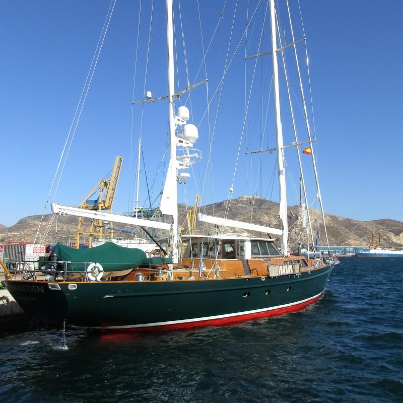 El velero Keewaydin visita Yacht Port Cartagena (2)