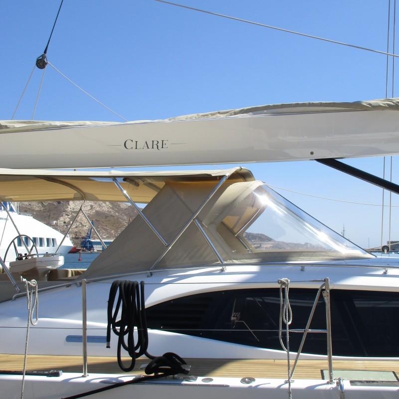 Yates BUSHIDO y CLARE en Yacht Port Cartagena (1)