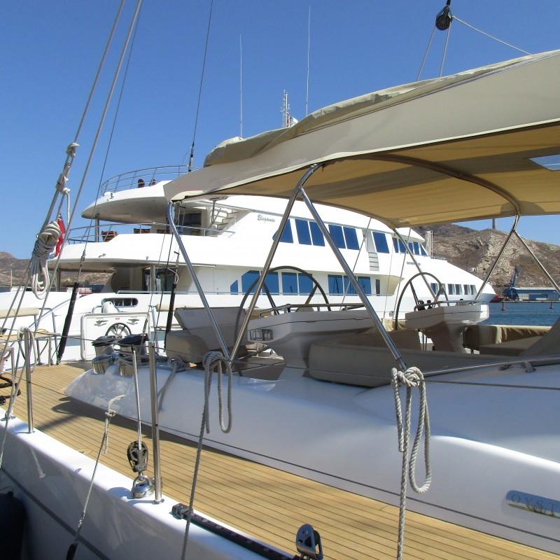 Yates BUSHIDO y CLARE en Yacht Port Cartagena (2)