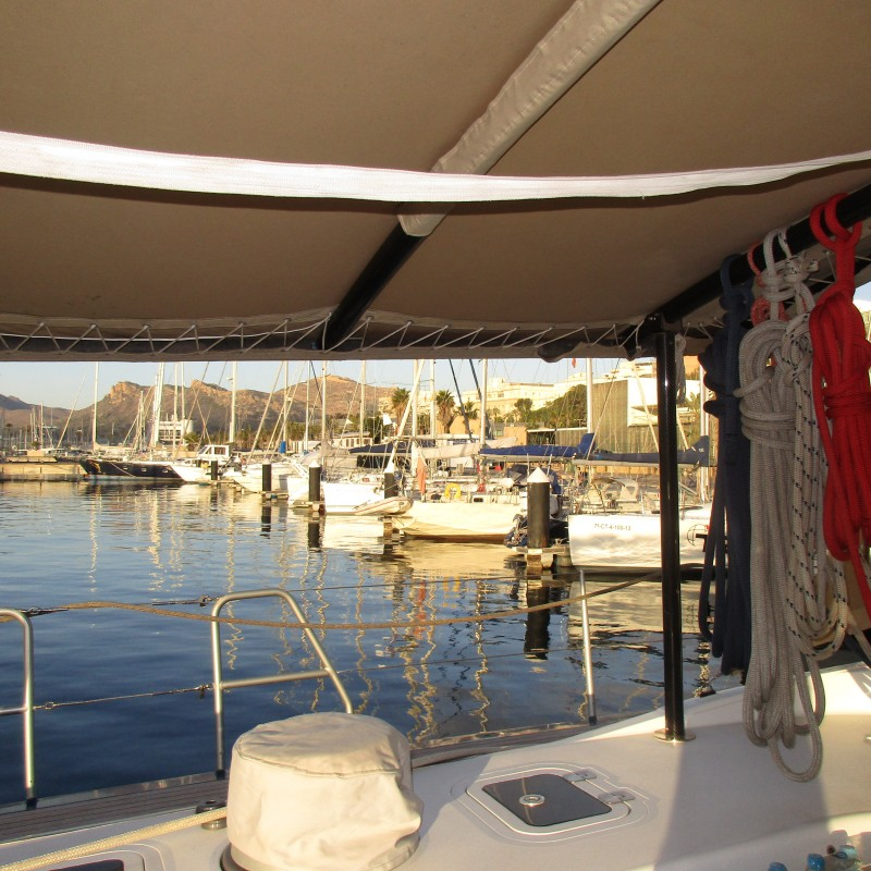 Cozy marina in South Spain (2)