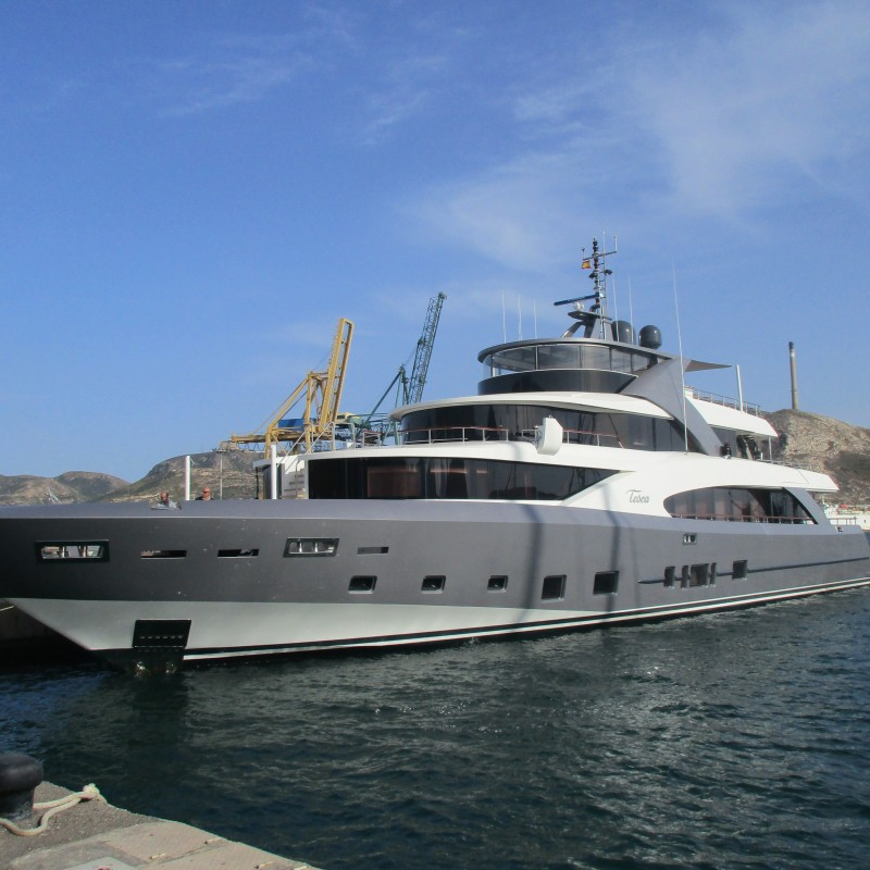 MY Tosca in Yacht Port Cartagena (1)
