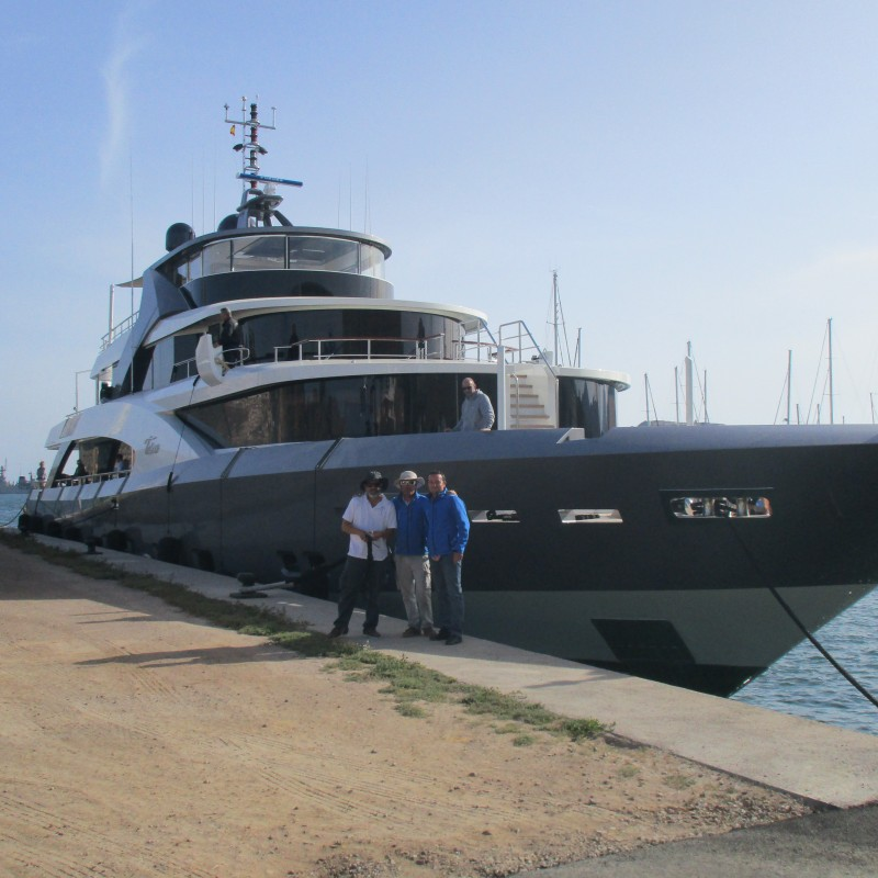 MY Tosca in Yacht Port Cartagena (2)
