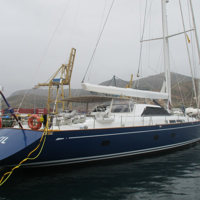 S.Y Kawil in Yacht Port Cartagena (1)