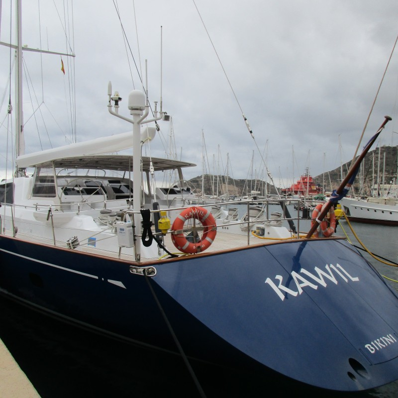 S.Y Kawil in Yacht Port Cartagena (2)