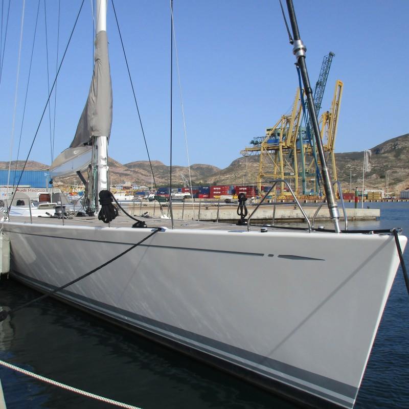 El velero Muzuni atracado en Yacht Port Cartagena (1)