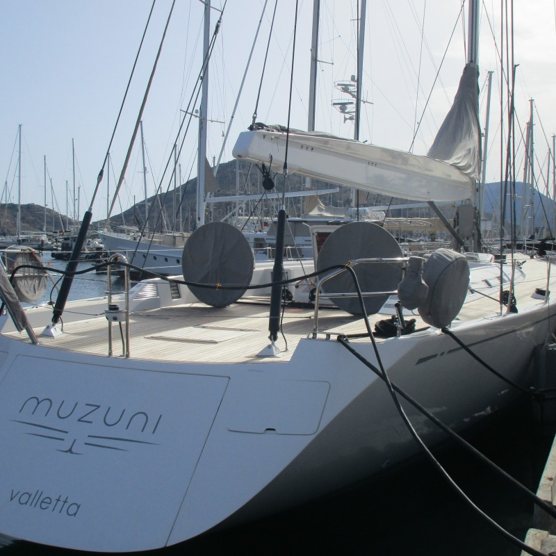 Sailing vessel Muzuni at Yacht Port Cartagena (1)
