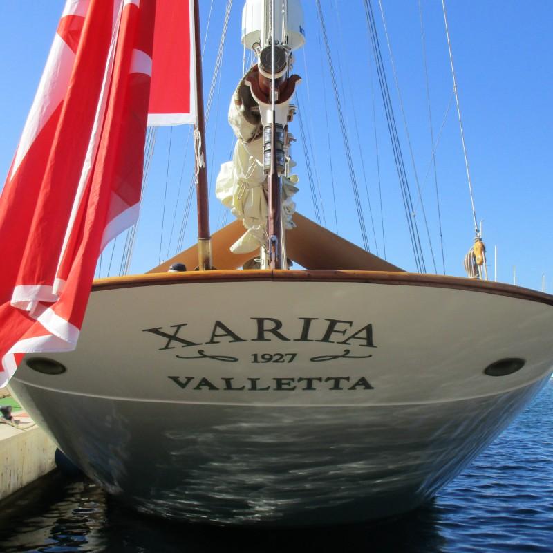 Velero Xarifa hace escala en Yacht Port Cartagena (2)