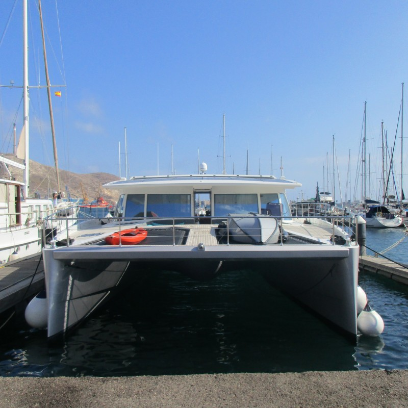 SOLARWAVE MOORED AT YACHT PORT CARTAGENA (3)