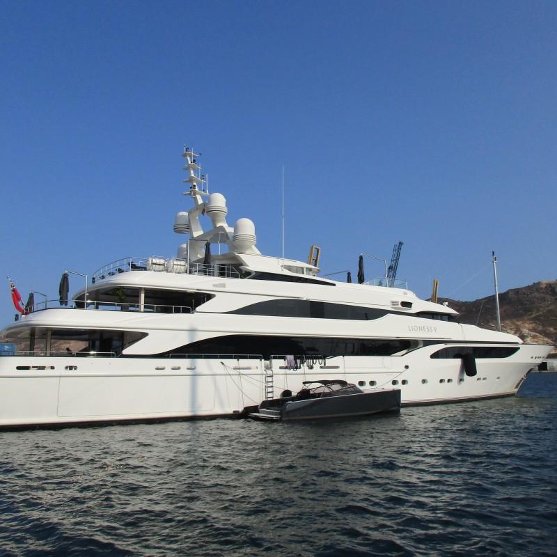 Motor Yacht Lioness V Yacht Port Cartagena