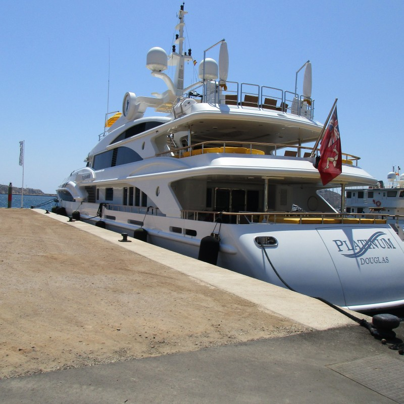 Motor Yacht Platinum in Yacht Port Cartagena