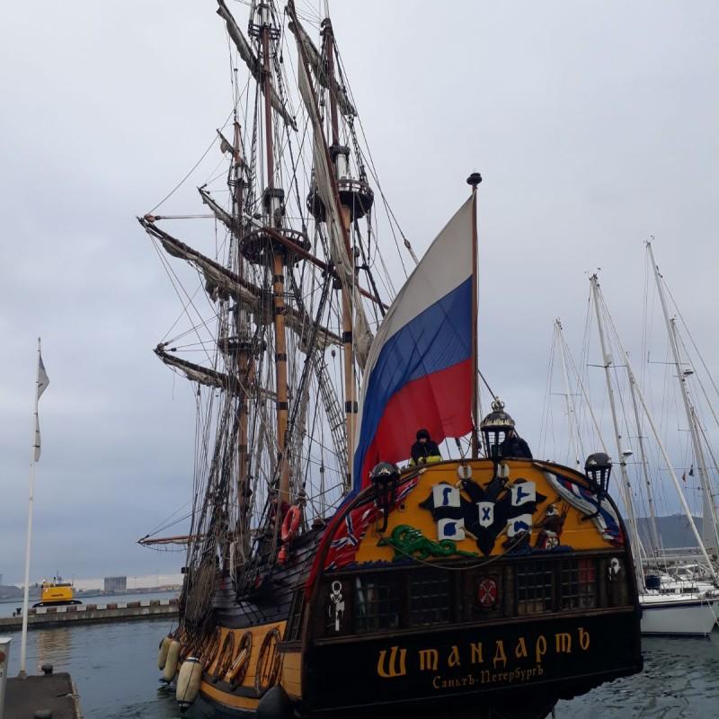 Fragata SHTANDART en Yacht Port Cartagena 1