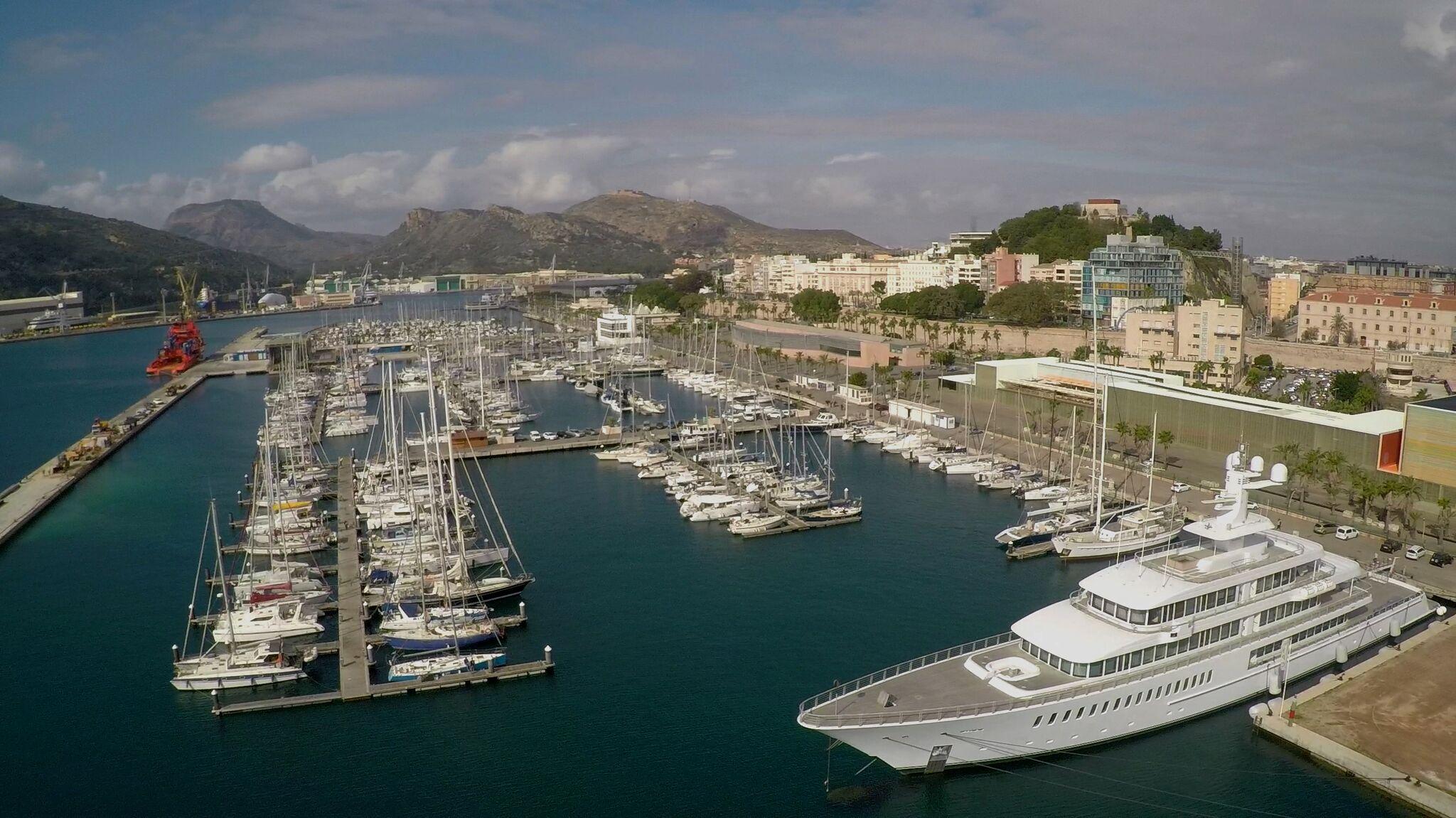 Yacht Port Cartagena (1)