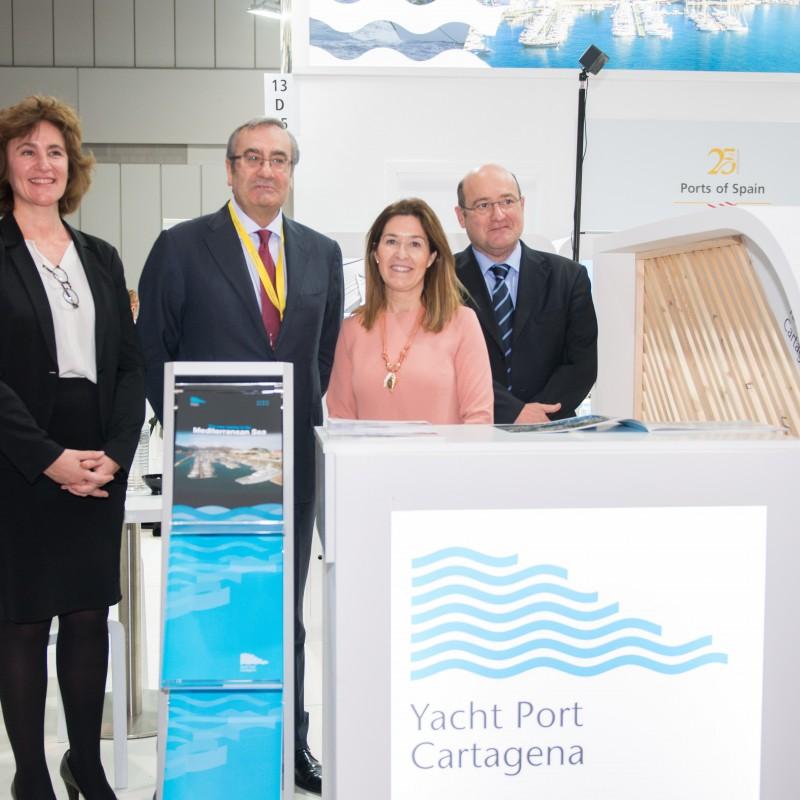 Yacht Port Cartagena en la Feria de Düsseldorf (1)