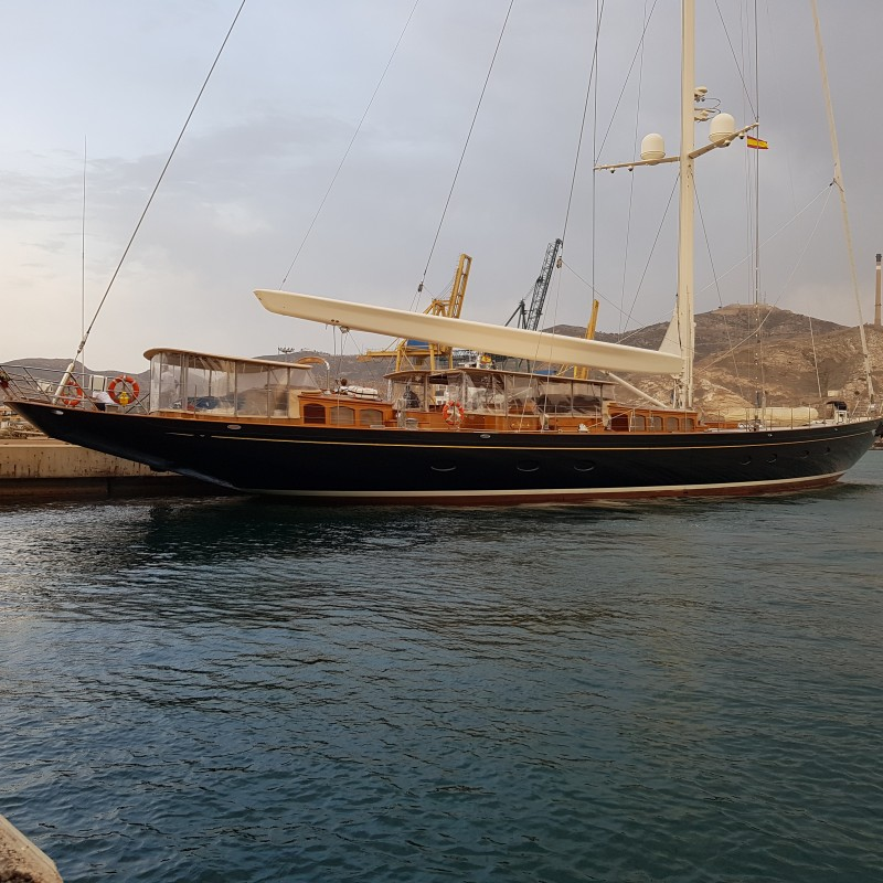 Sailing Yacht Wisp berthed at YPC (2)