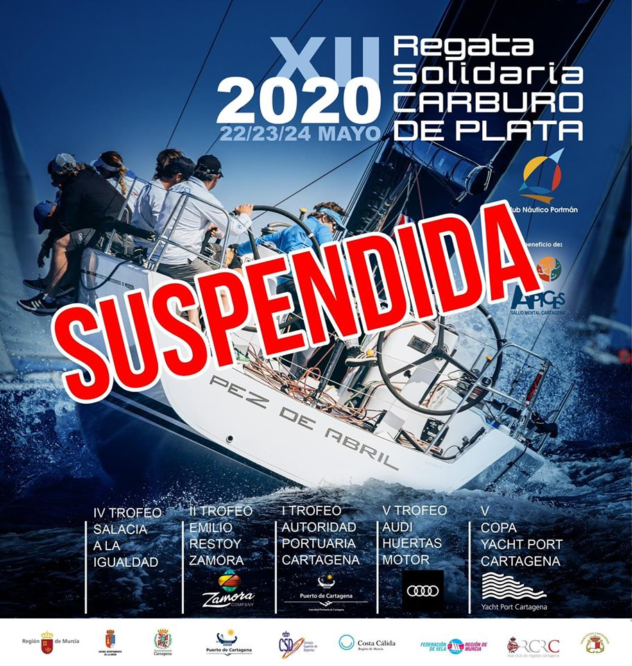 Regata Carburo de Plata suspendida