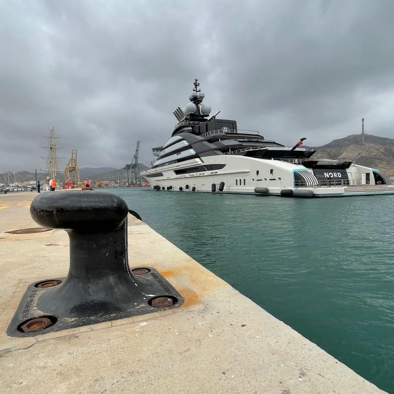 Yate Nord en Yacht Port Cartagena (2)